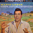 The LP 'Mario Lanza Sings Caruso Favorites' (released in 1960)
